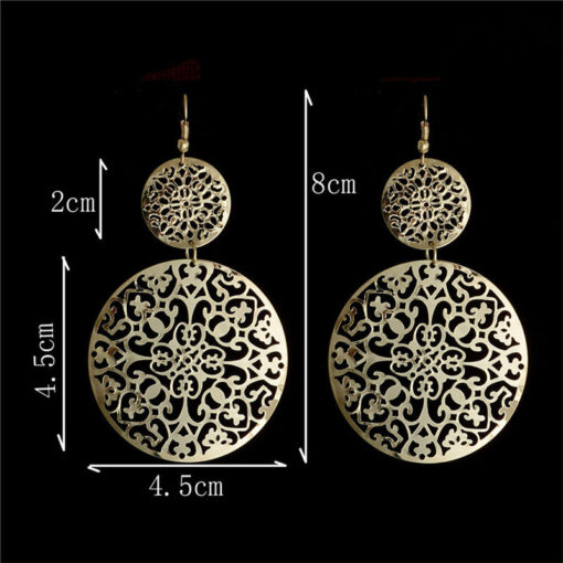 Round Hollow Dangle