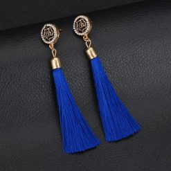blue rose tassel