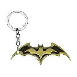 gold batman keychain
