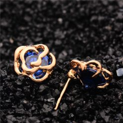 Blue Rose Stud