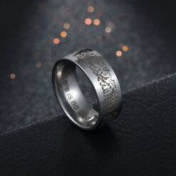Titanium Steel Kalma Ring