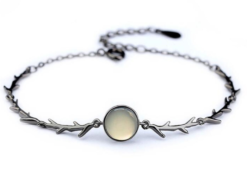 925 Sterling Silver Creative Rose Thorns Bracelet