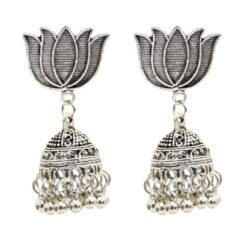 Lotus Love Jhumka