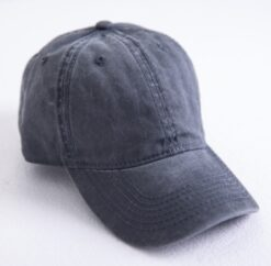 Washed out Cotton Denim Baseball Cap  6