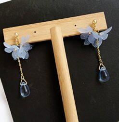 Trendy Acrylic Flower Earrings for Women 3