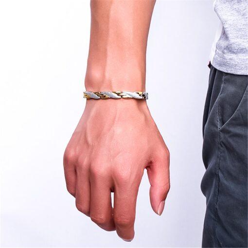 Twisted Magnet Bracelet  3