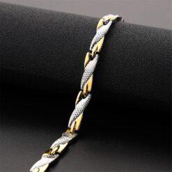 Twisted Magnet Bracelet  1